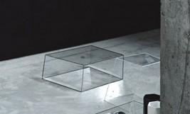 GLAS ITALIA_klub stolici WIREFRAME by Piero Lissoni