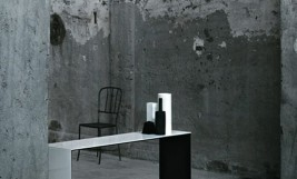 GLAS ITALIA_stolovi i konzole BRIDGE by Lissoni, Krusin, Tamborini