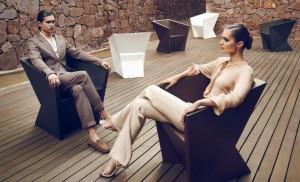 Faz fotelje, design Ramon Esteve | proizvođač VONDOM
