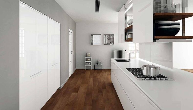Kuhinja Prima-AV, dizajn Nava& Casiraghi | proizvođač BINOVA