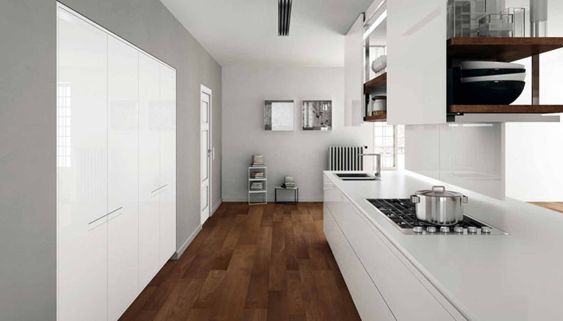 Kuhinja prima av dizajn nava casiraghi proizvo a for Pisos de ceramica para cocinas modernas