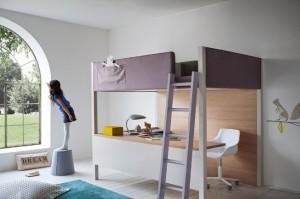 NIDI meki krevet na kat i stol